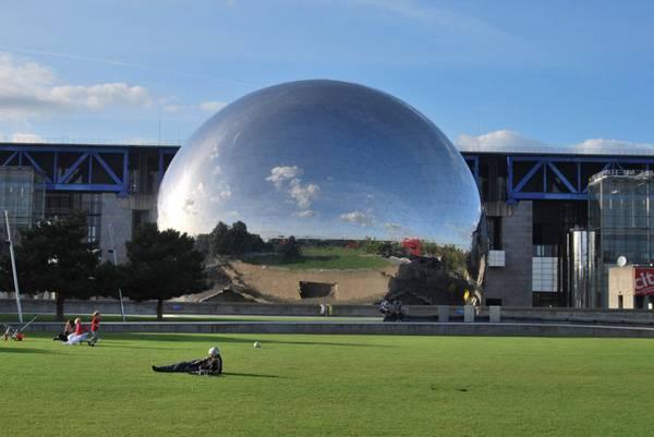 Modern Architecture Buildings In Paris